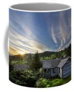 Cabins At Dawn Coffee Mug