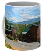 Cabins In The Smokies Coffee Mug by Frozen in Time Fine Art Photography
