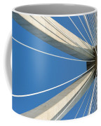 Cable Bridge Abstract Coffee Mug