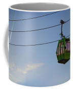 Cable Car In Zaragoza Coffee Mug