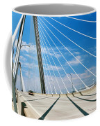 Cable-stayed Bridge, Arthur Ravenel Jr Coffee Mug