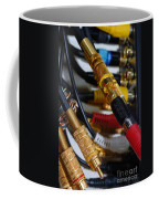Cables And Wires Coffee Mug by Amy Cicconi