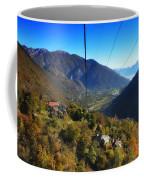 Cableway Over The Mountain Coffee Mug