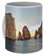 Cabo San Lucas Arch Sunset Coffee Mug