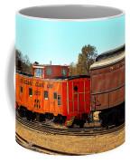 Caboose And Car Coffee Mug