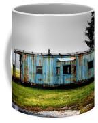Caboose On A Farm Coffee Mug