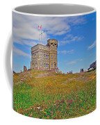 Cabot Tower In Signal Hill National Historic Site In Saint John's-nl Coffee Mug