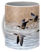Cackling Geese Flying Coffee Mug