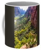 Cacti View Of Zion Coffee Mug