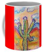Cactus And Clouds Coffee Mug