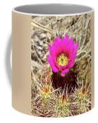 Cactus Flower Palm Springs Coffee Mug