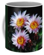 Cactus Flowers With Texture Coffee Mug