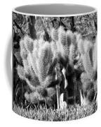 Cactus In Bw Coffee Mug