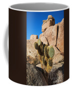 Cactus In Hidden Valley Coffee Mug