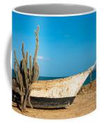 Cactus On A Beach Coffee Mug