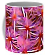 Cactus Pattern 3 Pink Coffee Mug by Amy Vangsgard