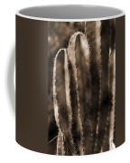 Cactus Sepia Tone Panama Coffee Mug