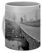 Cades Cove Black And White Coffee Mug by Frozen in Time Fine Art Photography