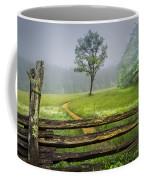 Cades Cove Misty Tree Coffee Mug