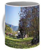 Cades Cove Tennessee Fall Scene Coffee Mug
