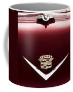 Cadillac Emblem And Hood Ornament Coffee Mug