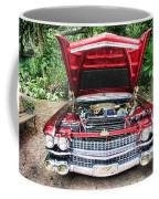 Cadillac Engine Coffee Mug