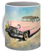 Cadillac Fleetwood 1955 Pink Coffee Mug