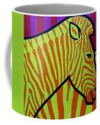 Cadmium Zebra Coffee Mug