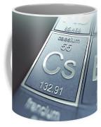 Caesium Chemical Element Coffee Mug