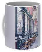 Cafe Della Pace East 7th Street New York City Coffee Mug by Anthony Butera