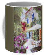 Cafe In The Spring Coffee Mug