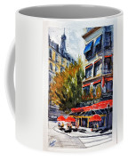 Cafe Le Champ De Mars Coffee Mug