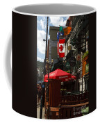 Cafes And Bars Along Crescent Street Coffee Mug