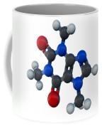Caffeine Molecular Model Coffee Mug