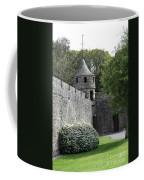 Cahir Castle Wall And Tower Coffee Mug