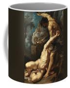 Cain Slaying Abel Coffee Mug
