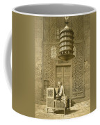 Cairo Funerary Or Sepuchral Mosque Coffee Mug by Emile Prisse d'Avennes