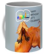 Cake And Wine Coffee Mug