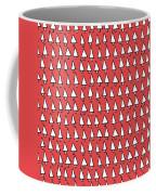 Cal Tree Red Coffee Mug
