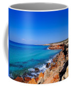 Cala Saona On Formentera Coffee Mug