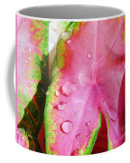 Caladium Leaf Coffee Mug