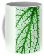 Caladium Leaf  Coffee Mug