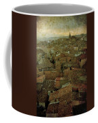 Calahorra Roofs From The Bell Tower Of Saint Andrew Church Coffee Mug
