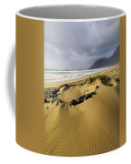 Caleta De Famara Beach On Lanzarote Coffee Mug