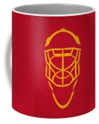 Calgary Flames Goalie Mask Coffee Mug