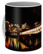 Calgary's Peace Bridge Coffee Mug