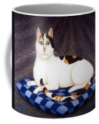 Calico Cat Portrait Coffee Mug