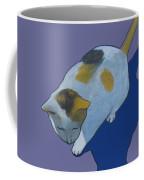 Calico On Purple Coffee Mug