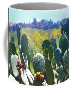 California Big Sur Flowers Coffee Mug