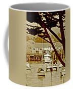 California Coastal Harbor Coffee Mug